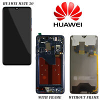 LCD Touch Screen Display Digitizer Assembly W/Fame For Huawei Mate 20