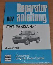 FIAT Panda 4 x 4 ab Baujahr 1983 Handbuch Bucheli Reparaturanleitung B807 NEU