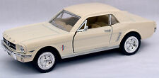 Diecast 1:36 Ford 1964 Mustang in cream
