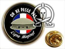 "..: Pin's :.. "" LIGNE MAGINOT "" on ne passe pas TOURELLE 75 1940 fortif fort"