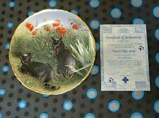 More details for cat collectors plate secret hide away ltd edit its a cat life series cat plate