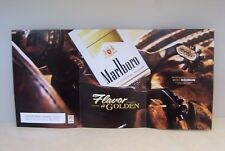 MARLBORO CIGARETTES ADVERTISEMENT ART POSTER ~CIGARETTE PACK & GEAR ~SPURS ~NEW