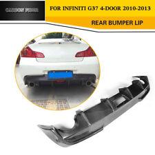 Carbon Fiber Rear Bumper Diffuser Spoiler Factory For Infiniti G37 Sedan 10-13