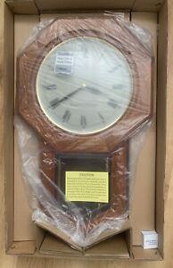 Seiko Wooden Chiming Wall Clock with Pendulum QXH102B