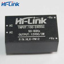 10pcs Hilink HLK-PM12 AC-DC 220V a 12V 3W Módulo de Alimentación Abajo