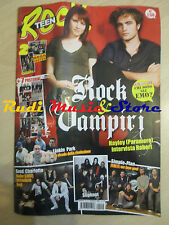 Rivista TEEN ROCK 14/2009 + 7 Posterini  Linkin Park Slipknot Simple Plan  No cd