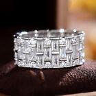 Luxury Women Jewelry 925 Silver Rings Cubic Zirconia For Wedding Rings Size 6-10