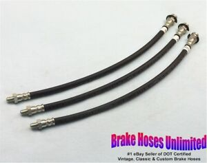 BRAKE HOSE SET Lincoln H Series 1946 1947 1948