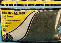 Woodland Scenics Ballast Bag Clump Foliage Dark Green #FC684