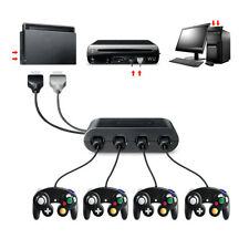 4 Port 3in1 Gamecube NGC Controller Adapter For Nintendo Wii U Switch and PC USB