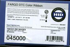 Fargo original YMCKO P/N 45000 ribbon cartridge for DTC1000 printer