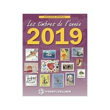 Catalogue Mondial des Nouveautés de timbres 2019 en couleurs.