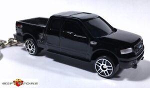 RARE KEY CHAIN BLACK FORD F150 FX4 FX-4 TRUCK PICKUP NEW CUSTOM LIMITED EDITION
