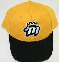 Memphis Mississippi River Kings ML Hockey Hat Yellow Black Cap Adjustable