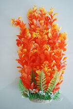 plantes pour aquarium environ 50 cm haut orange & jaune convient à tout type