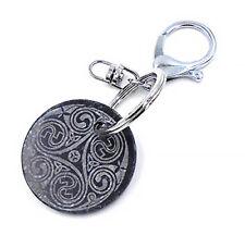 Kilkenny Marble Irish Triskele Design Keychain