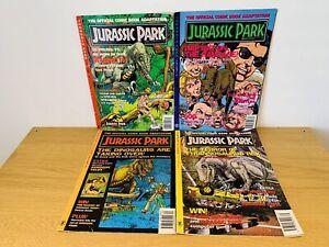 Jurassic Park #1 - Dark Horse Comics - June 1993 Set 1-4 Based on the film Rare