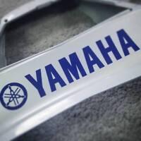 Yamaha BLUE 13in 33cm decal decals sticker yzf stickers fz09 fz1 fz6r motogp sr