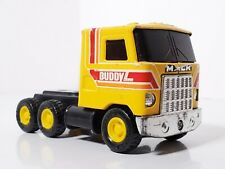 Buddy L- Yellow Delivery Semi Truck 1980s Metal