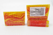 Dreamer Yellow Fury Handmade Artisan All Natural Vegan Hibiscus Scented Bar Soap