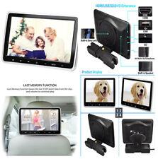 10.1 in (environ 25.65 cm) Digital TFT LCD appuie-tête lecteur DVD IR/FM/Haut-Parleur Disque de Jeu HD Vidéo