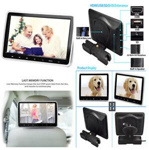 10.1 inch Digital TFT LCD Headrest DVD Player IR/FM/Speaker Game Disc HD Vedio