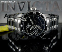 NEW Invicta Men's Gunmetal BLACK PANTHER SCUBA PRODIVER Stainless Steel LE Watch