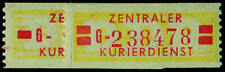 DDR Dienst B Nr. 18-19 postfrisch **