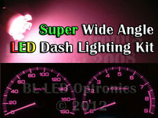 Pink T10 194 168 6-LED Dash Kit For Nissan 300ZX Z32 Fairlady Z