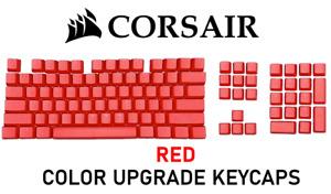 Genuine Corsair RED Color Upgrade Keycap RGB PBT DoubleShot Cherry K60 K100 +