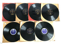 7x HARRY JAMES & HIS ORCHESTRA 78 RPM Parlophone Shellac Records Fox Trot Swing