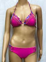 Bikini Set Swimsuit Hot Pink COLOMBIAN SWIMWEAR USA SELLER!