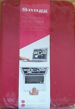"""Genuine Snugg MacBook Air & Pro 13""""  Red Leather Protective Case"""