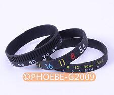 Photographer's Wristband SET/ Stop Lens Zoom Creep /Aperture+Focus+Focal Length