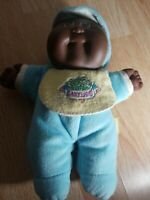 CABBAGE PATCH KIDS BABYLAND KID DOLL HASBRO VINTAGE 1989 AA African American