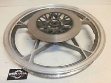 "1981 Suzuki Gs450 GS 450 GENUINE Front Wheel Rim 19x1.85 OEM 19"" Cast GOOD VIDEO"