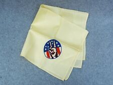 "New listing V-Sign Peace Symbol Hand 1960's Anti-War Vintage Scarf Handkerchief 21""x21"" Flag"