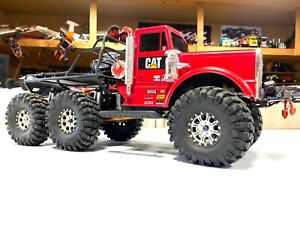 """RCSparks Collection: """"BiG RED"""" 6X6 OilField BL Mega Truck (CAPO Air Suspension)"""