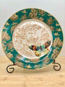 "Mandarin Toile 8"" Butterfly Plate"