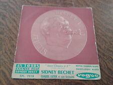 45 tours sidney bechet claude luter et son orchestre saint-louis blues