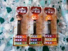 Harry Potter - 3 Dispenser caramelle PEZ - Harry Potter, Ron, Hermione