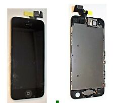 For iPhone 5S Black LCD Screen Complete - With Parts Prefitted Apple