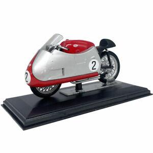 1:22 1955 Vintage Gilera 4cil.500cc. Motorcycle Model Motorbike Diecast Gift Red