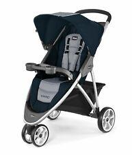 Chicco Viaro Quick-Fold Stroller - Regatta Blue Grey
