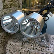 2X 12V 30W CREE LED Spot Light Motorcycle Car Boat Off Road Waterproof Headlight