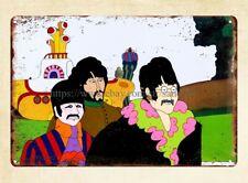 "JOHN LENNON The Beatles Primitive Wood Hanging Sign 5/"" x 10/"""