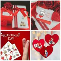 1pc Valentine's Day Sticker Love and warm Gift stickers Q9X9