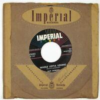 FATS DOMINO Whole Lotta Loving 7IN 1958 R&B NM-