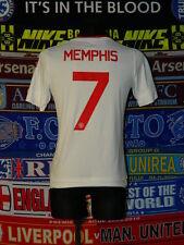 5/5 Manchester United boys 15/16 years 176cm #7 Memphis football shirt jersey