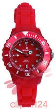 Pegasus Colour Watch Armbanduhr, rot 28 mm Wasserdicht bis 5 ATM NEU&OVP